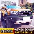 Гриль модифицированный Раптор Решетка переднего бампера сетка подходит для RANGER 2018 2019 T8 PX MKIII MK3 XL + XLS XLT Limited Пикапы