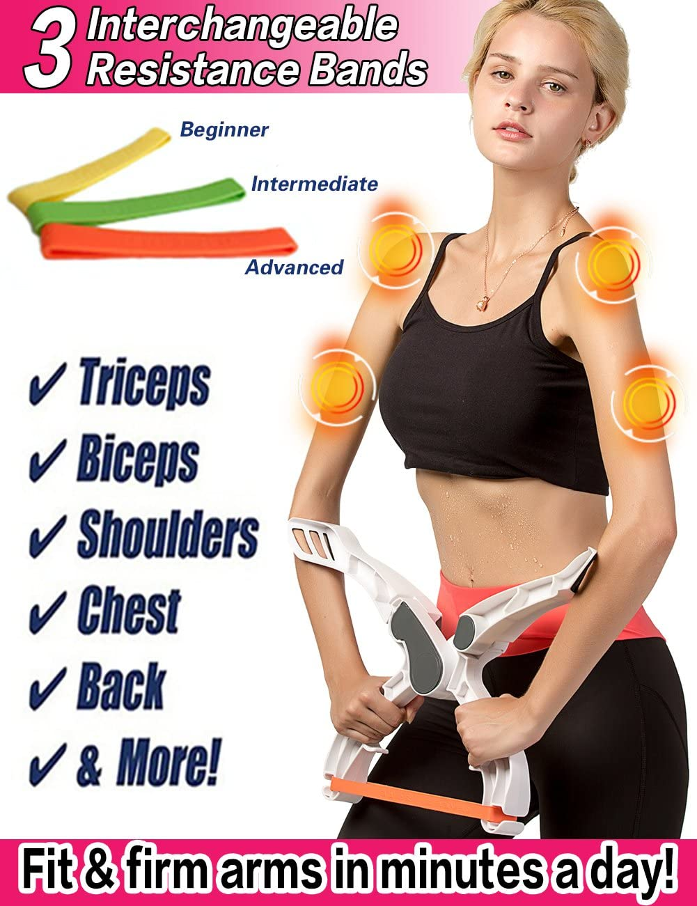 Useful Armor Upper Body Hand Grip Strength Brawn Training Device Wonder Arm Forearm Wrist Force Fitness Gym Exercise Equipment