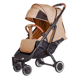 Image 1 - 2019 yoya poussette plus 4 peut sasseoir et se coucher 175 degrés pliant parapluie chariot ultra léger bébé chariot portable sur lavion