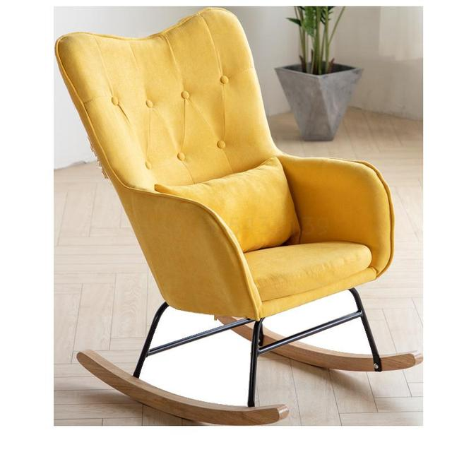 Accent Chair with Ottoman 4