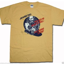 Jethro Tull T Shirt - Too Old To Rock & Roll US Import Prog Rock!(China)