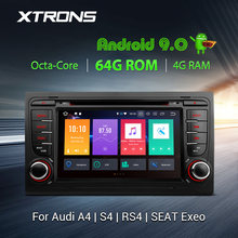"XTRONS 7 ""PX5 Android 9.0 Car Stereo Lettore DVD Radio GPS TPMS OBD DVR WIFI per Audi A4 B6 b7 2005 S4 RS4 Per SEAT Exeo 2008(China)"
