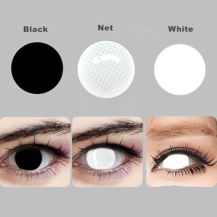 EYESHARE 2pcs/pair 2020 New Halloween Cosplay Colored Contact Lens Yearly Use Cosmetic Contacts Lenses Eye Color