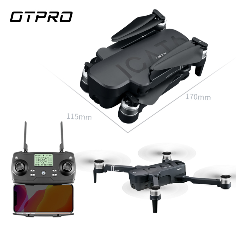 PromoteÏOTPRO Camera Drones Toys Rc Helicopter Brushless-Motor Professional Foldable Mini 5G
