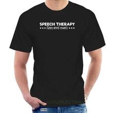 Men's SLP Speech Language Pathologist Pathology Therapy t shirt personalized tee shirt Euro Size streetwear Cute shirt @109903