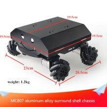 Металлическое шасси mc807 из алюминиевого сплава черный объемный