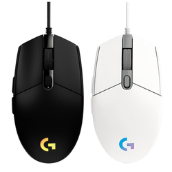 Logitech G102 LIGHTSYNC przewodowa mysz do gier RGB 6 przycisków 8000 DPI przewodowa mysz do komputera stacjonarnego Home Office