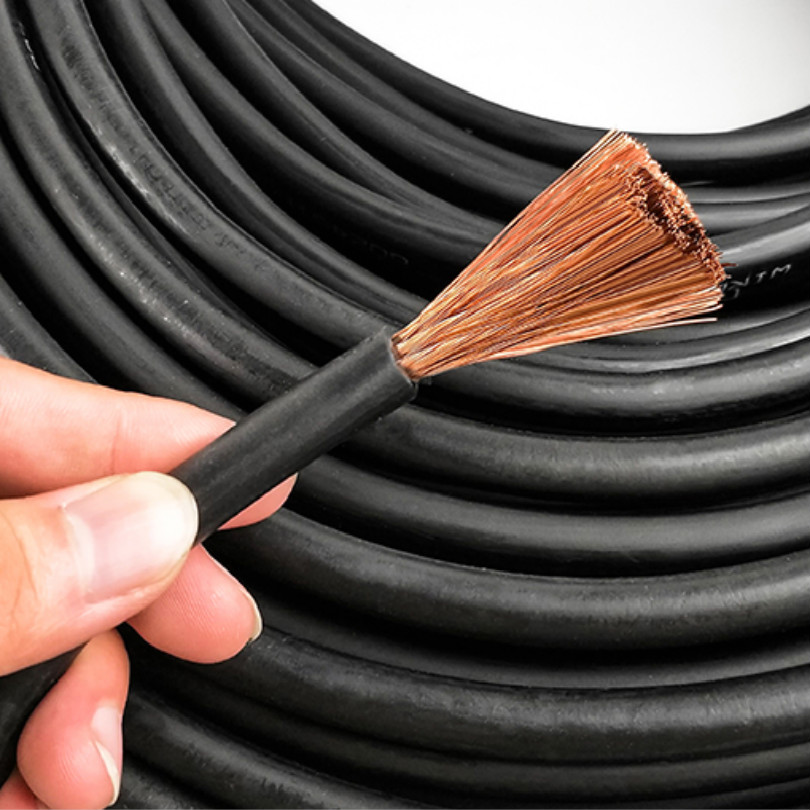 Free Shipping Pure Copper 16 Mm Square Welding Cable Grounding Cable Soldar For 200/250 Welding Machine Cable Welder 5M/LOT