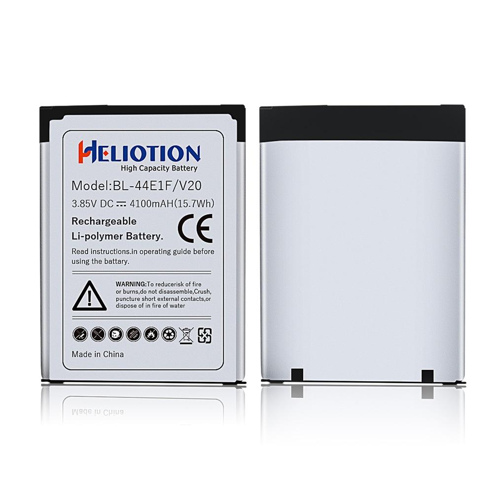 2 pièces/lot LG V20 batterie 4100mAh pour V20 LG BL-44E1F H910 H918 V995 LS997 li-polymère Batteries de remplacement
