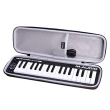 LTGEM Waterproof EVA Hard Case for M Audio Keystation Mini 32 MK3 Ultra Portable MIDI Keyboard Controller