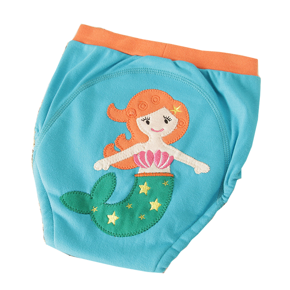 Reusable Washable 4Layers Baby Cotton Training Pants Infant Baby Waterproof Changing Nappies For Girls Boys Cloth Diapers 18M-4T