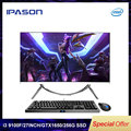 IPASON All In One Gaming PC V10 27 Inch Intel 6 Core i3 9100F DDR4 8G RAM 256G SSD Non-Integrated 1650 4G Gaming Computer PC