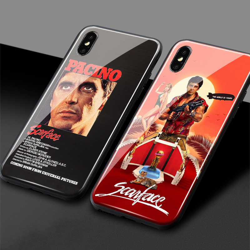 coque iphone 12 scarface iphone