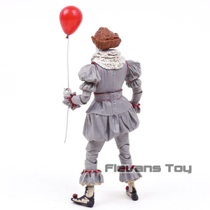Image 4 - NECA Stephen King to Clown Pennywise Horror figurka Model kolekcjonerski