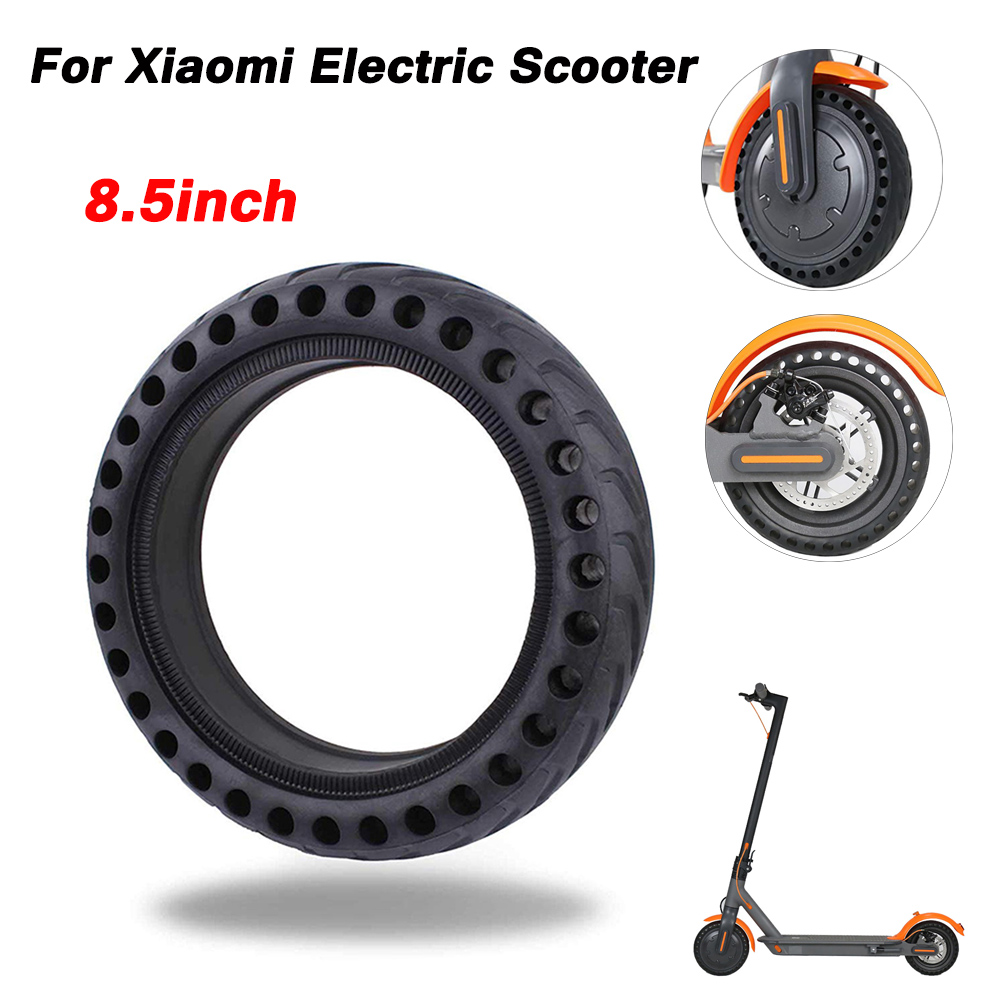Hollow Tires for Xiaomi Mijia M365 Anti-Skid Pneumatic 8 1/2X2 Front Rear Wheel Tire 8.5 Inch Spare Rubber Tyres Xiaomi Scooter