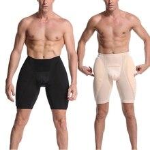 섹시한 실리콘 엉덩이 패드 엉덩이 향상제 팬티 Crossdresser 트랜스 젠더 패딩 스폰지 패드 엉덩이 기중 셰이퍼 속옷