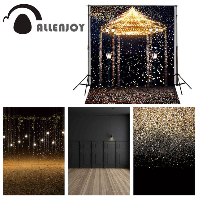 Allenjoy 5ftx7ft Wedding Photo Studio Backdrop Photography Background Star Highlights romantic aesthetic fireworks castle custom