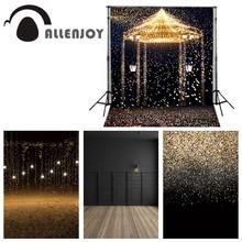Allenjoy 5ftx7ft zdjęcie ślubne Studio tło fotografia tło gwiazda podkreśla romantyczny estetyczne fajerwerki zamek niestandardowe