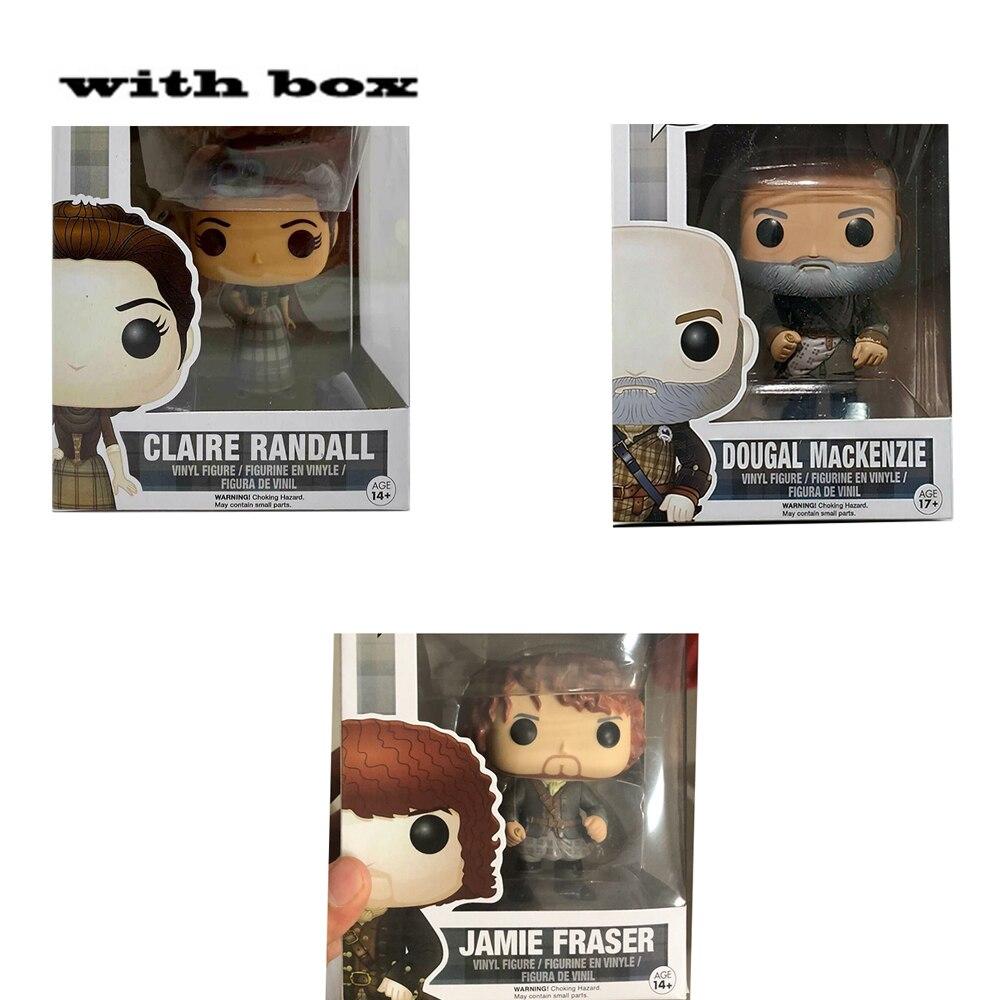 Новинка Outlander 251 # Jaime Фрейзер #252 dougal макенкензи #250 Клэр Рэндалл с коробкой фигурка поп игрушки модель игрушка для детей