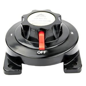 Image 2 - Boot Marine RV Motor Batterie Schalter Elektrische Dual Batterie Selector Power Converter Batterie Trennen Schalter