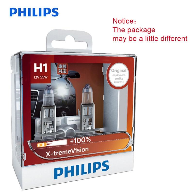 philips-original-h1-h4-h7-h11-hb3-hb4-x-treme-vision-car-headlight-bright-halogen-bulbss-ece-approve-100-more-vision-pair