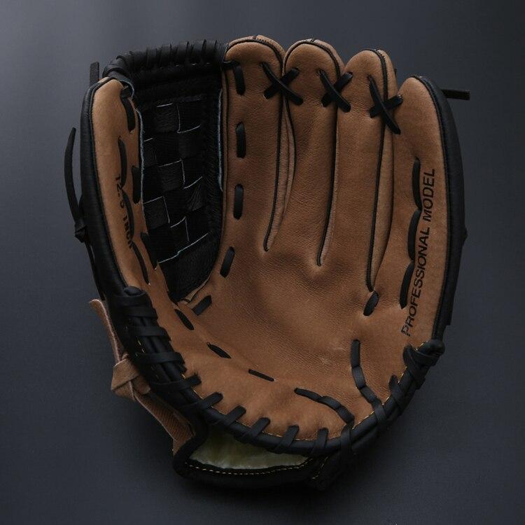 Right Hand Baseball Glove Leather Men Kids Baseball Glove Practice Hand Weighted Gants Baseball Beisbol Outdoor Sports BJ50ST