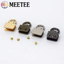 4/10Pcs Metal Bag Side Clip Buckles Handbag Strap Clasp Screw Handles Chain Hook Connector Bag Hanger Hardware Accessories F1-9 цена 2017
