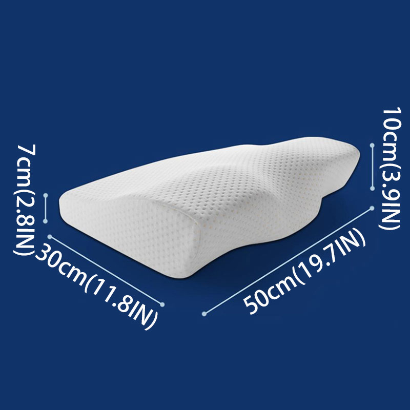 Image 3 - Orthopedic Pillow Solid Color Pillow With Memory Soft And Breathable Orthopedic Pillow For Sleep BE47004-in Body Pillows from Home & Garden