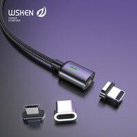 Wsken USB Magnetico Cavo USB C Rapida Ricarica USB Tipo C Caricatore Magnete per iphone Micro USB di Ricarica Veloce Mobile telefono USB Cavo