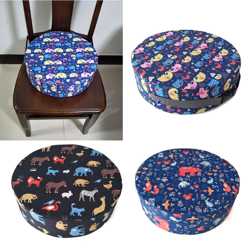 1 Pc Baby Dining Cushion Children Increased Chair Pad Adjustable Removable Highchair Chair Booster Cushion Seat Chair for Baby