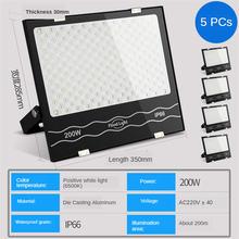 50 Вт 100 200 прожектор Водонепроницаемый светодиодный светильник