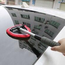 Leepee窓こするミストエリミネーター伸縮窓ガラスクリーナーマイクロファイバー車のフロントガラスクリーニングブラシ窓クリーナー
