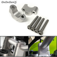 handlebar risers Height up Adapters for bmw r1200gs lc gsa adventure s1000xr 2014-ON