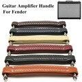 Высокое качество, кожаная ручка, винтажный стиль, гитарный усилитель, ремешок для укулеле, музыкальные инструменты, другие детали, аксессуа...