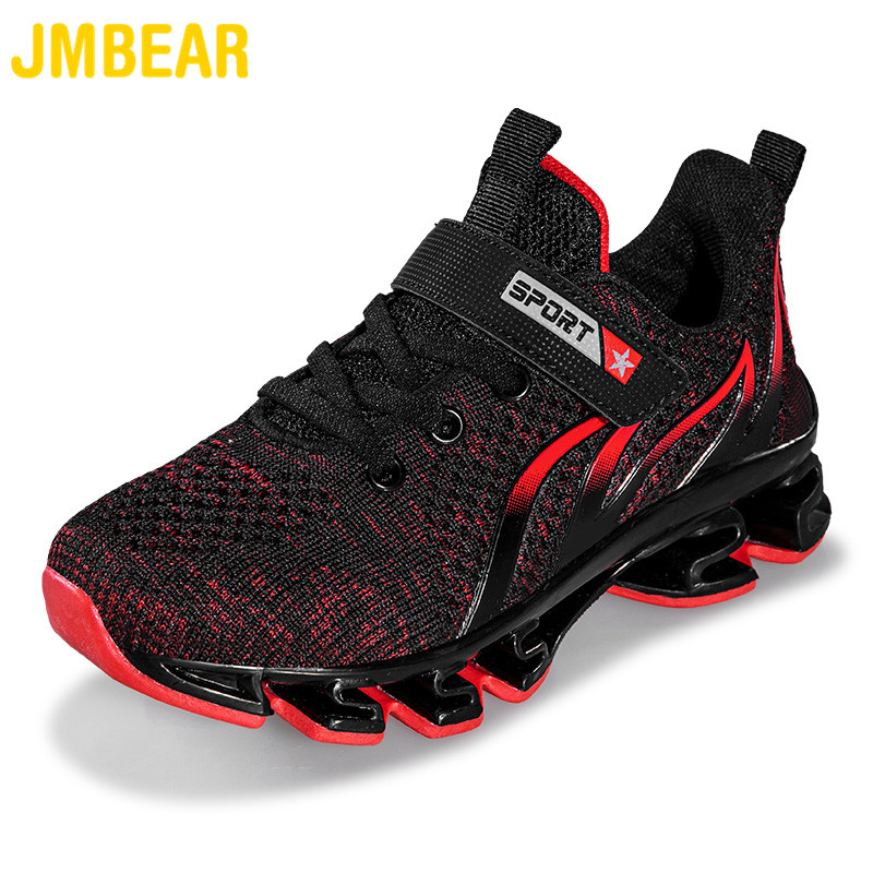JMBEAR Kids Shoes Men's Outdoor Leisure Running Boys Shoes Children's Wearable Sports Shoes In All Seasons кроссовки детские7056