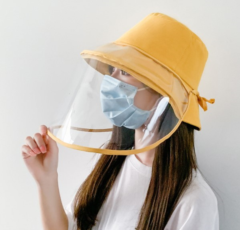 2020 New Anti fog Hats Men Women Dust Protection Bucket Hat Female Outdoor Travel UV Protect Fisherman Hats And Sun Caps|Sombreros de sol para mujer|   - AliExpress