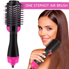 3 In 1 Multifunction Dryer Straightener Curler Styling Comb Hair Brush One-Step Hair comb & Volumizer hot comb blow dryer brush цена