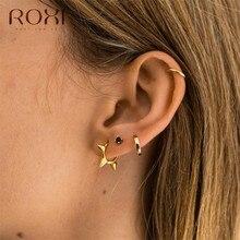ROXI Fashion Punk Style Rivet Stud Earrings for Women oorbel