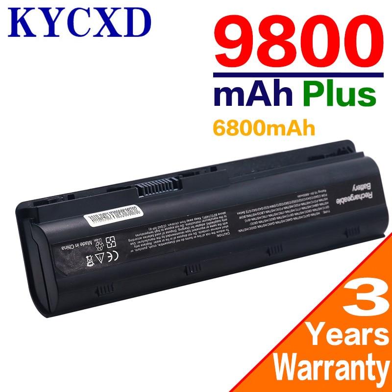 6 ячеек mu06 черный Аккумулятор для ноутбука HP ноутбук ПК 593553-001 для ноутбука HP Pavilion g4 G6 G7 G32 cq42 593562-001 аккумулятор большой емкости dv4 dv6 MU09 HSTNN-LB0W