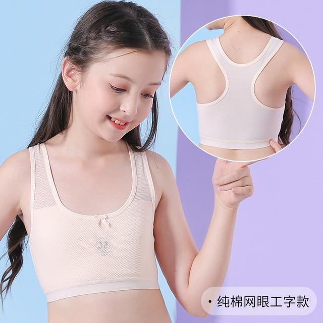 Mädchen Sport Bh Trainings Bh für Mädchen 6-18 Jahre Tops Unterwäsche 2