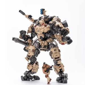 """Image 1 - JOYTOY JT0203 çelik kemik zırh çöl Ver. 9 """"Robot modeli ve sürücü 1/25 aksiyon figürü"""