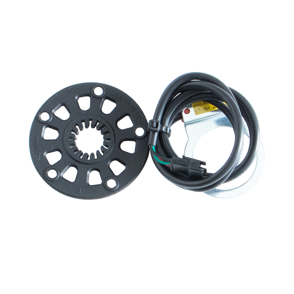 Pedal Sensor Pedelec E-Bike Hall Sensor and 5er Magnetic Slice Set F PAS Sensor