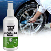 HGKJ-18-100ml Car Paint Wheel Iron Powder Rust Remover Wheel Rim Car Cleaner Coating Supplie Spot Rust Tar Spot Remover Polishes