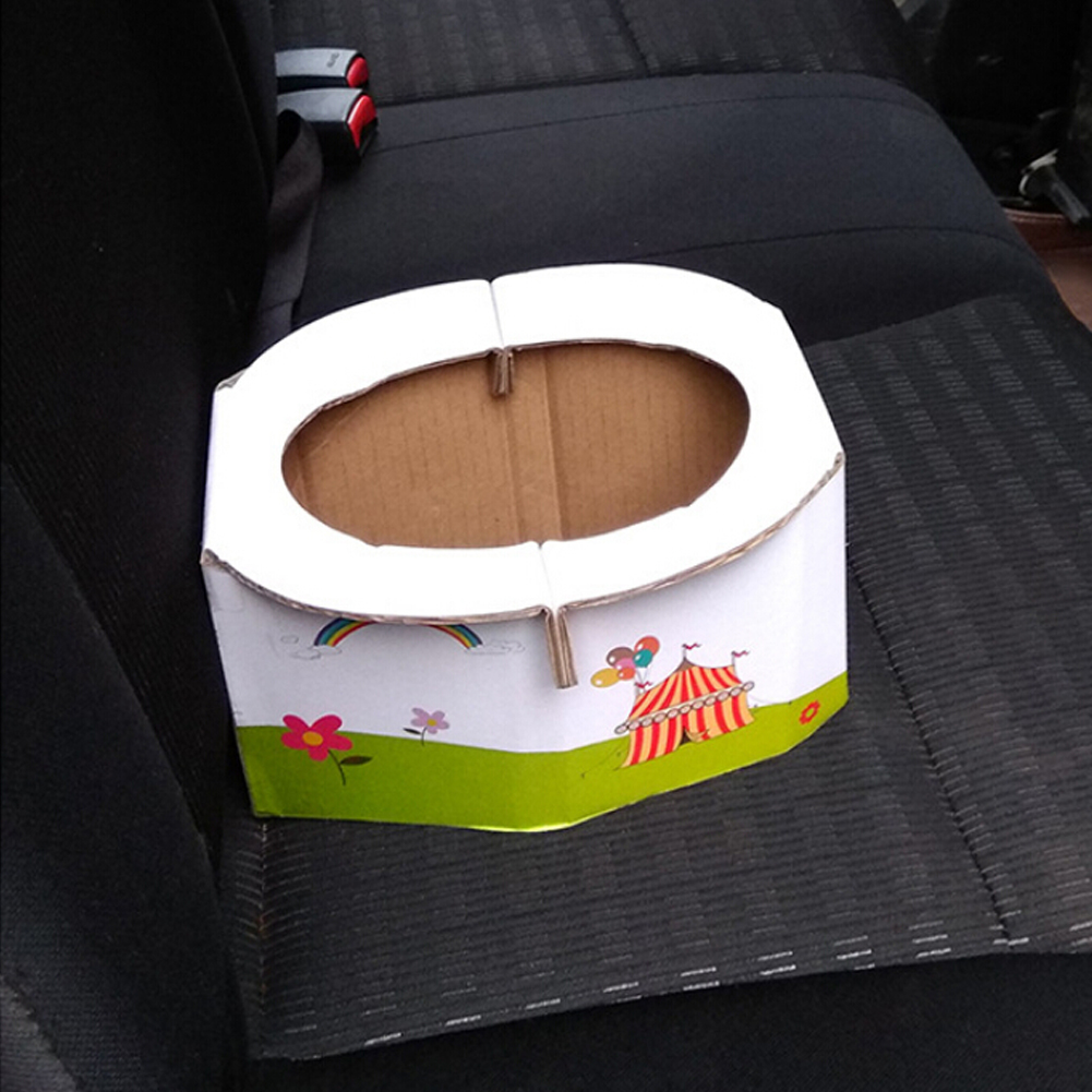 Portable Folding Toilet Infant Kids Child Potty Training Toilet Seat Car Travel Camping