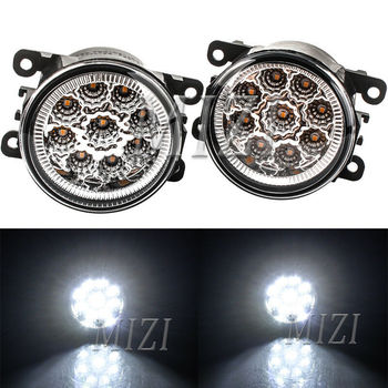 цена на 2pcs LED front Fog Light For Subaru Impreza XV Crosstrek 2012 2013 2014 2015 Bumper Lamp foglight fog lights