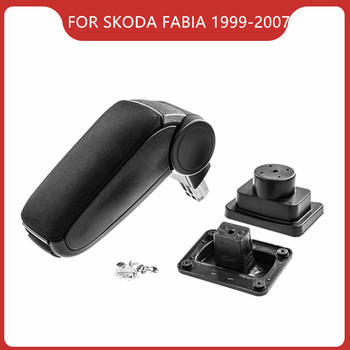 Free Shipping Car ARMREST FOR SKODA FABIA MK1 1999-2007,Car Accessories Auto Parts Center Armrest Console Box Driver Arm Rest upgraded car styling car arm rest accessories accessory mouldings protector automobiles armrest box 02 03 04 for chevrolet sail