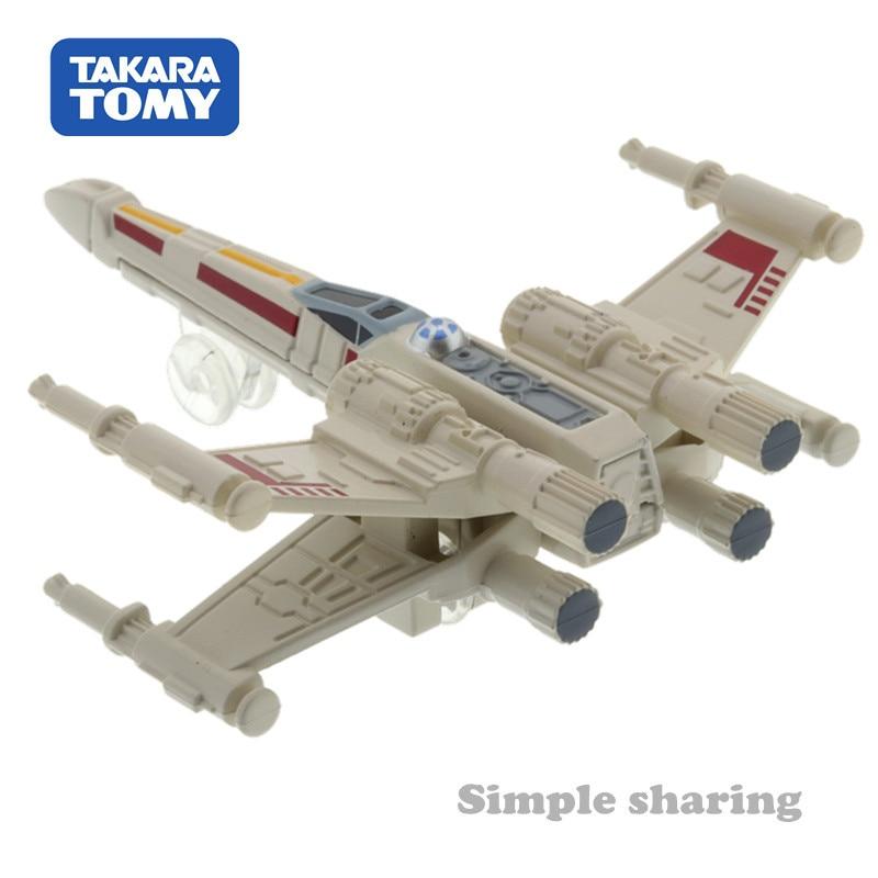 Takara Tomy Tomica Star Wars TSW-06 Widerstand X-Wing Fighter Diecast Spielzeug