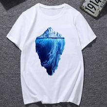 Женская футболка с коротким рукавом принтом
