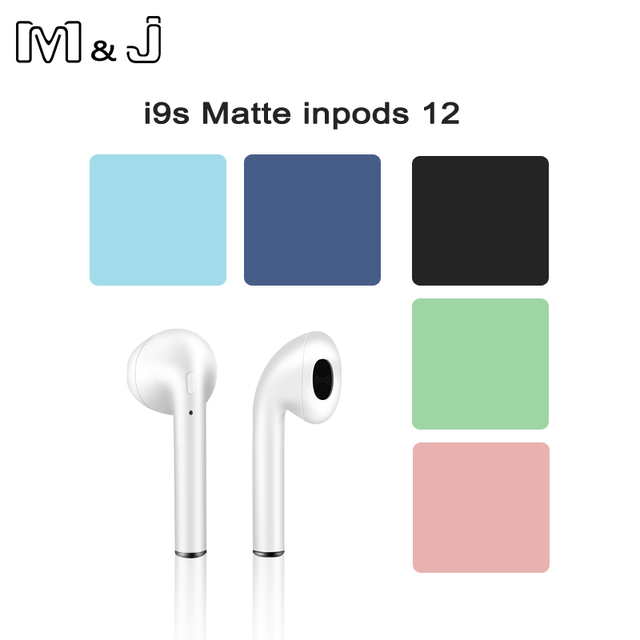 Original Touch Control Wireless Headphones Bluetooth 5.0 Earphones  Mini Headset i9S TWS With Mic earbuds