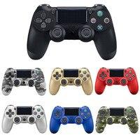 Bluetooth ワイヤレス/有線 PS4 コントローラ用フィットのための万都 ps4 コンソールプレイステーションデュアルショック 4 用 PS3